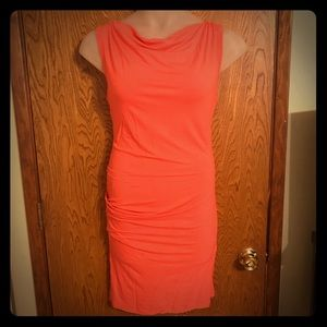 Mossimo XXL Ruched Side Cowl Neck Bodycon Dress